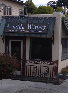 Capitola Wine tasting room