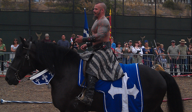Horse and knight