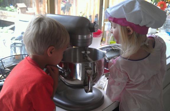 Kids Mixing